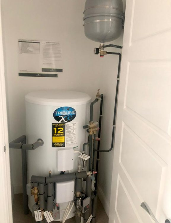 Unvented Cylinder Service in Cross Gates